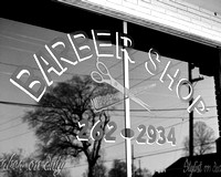 Barber Shop at 10th and Fatherland